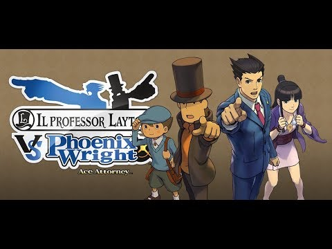 Professor Layton Finally meets Phoenix!! (CH1)