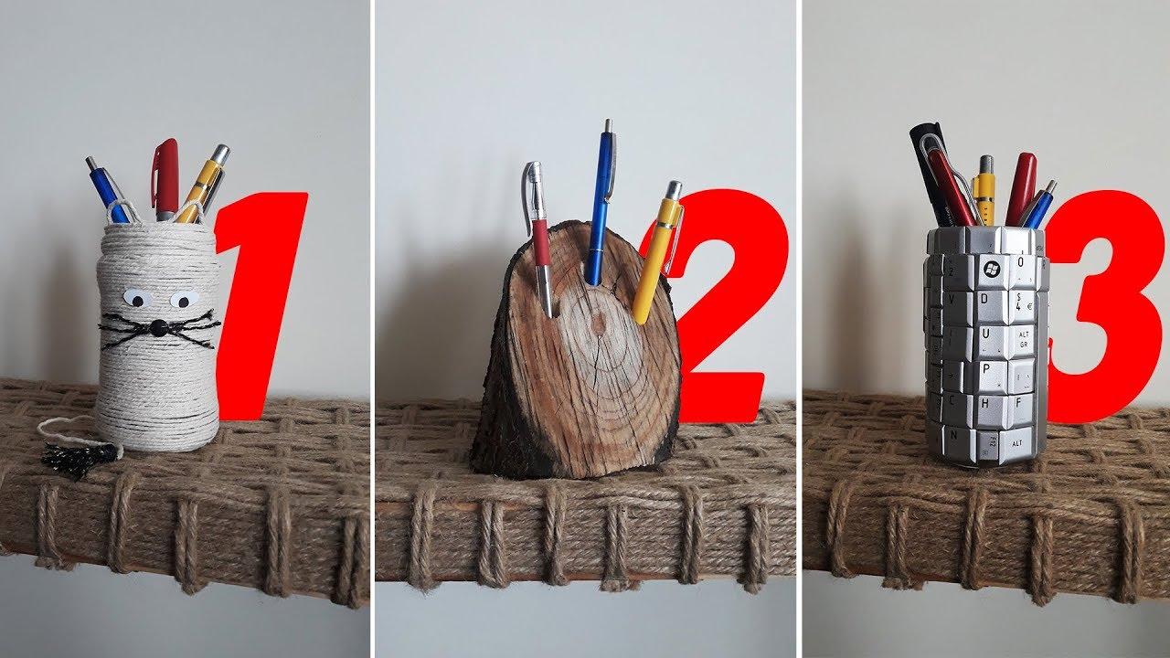 3 Idei de Cadouri - DIY Suport Pixuri / Instrumente de Scris