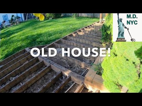 Metal Detecting NYC: 115 Year Old House Deck Reconstruction