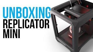 Unboxing the MakerBot Replicator Mini Plus+ | Setup Instructions
