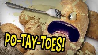 Annoying Orange - PO-TAY-TOE Episodes Supercut!!!