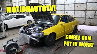 MotionAutoTV's Civic Comes To The Shop For a Tune!