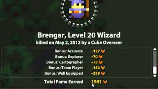 RotMG - Brengar's Wizard Death Screen..