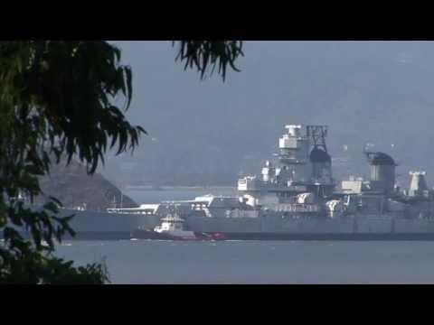 BB-61 — USS IOWA Movement 28OCT2011