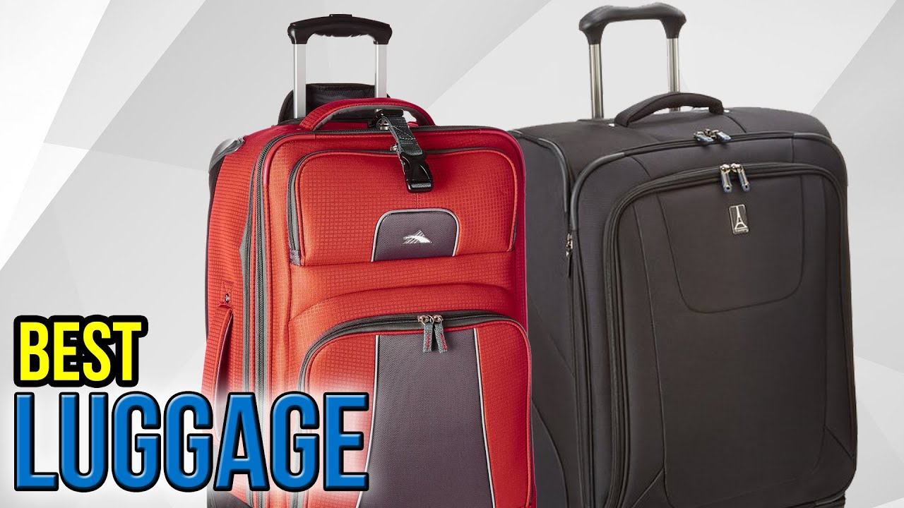 10 Best Luggage 2017 - YouTube