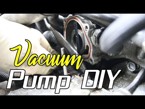 How to Install a Vacuum Pump on a VW 2.5L 5cyl (Find Parts HERE too)