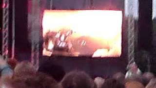 Iron Maiden intro-stora skuggan stockholm 2010
