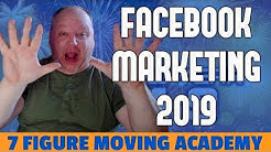 Facebook Marketing For Movers 2019
