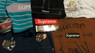 Supreme First drop of FW16 ~ BIGGEST unboxing EVER!!