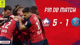 Lille LOSC vs Paris Saint Germain (PSG) 5 -1 Highlights & All Goals