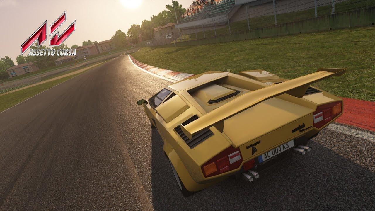 Assetto Corsa Teenage Dream Gold Lamborghini Countach Imola