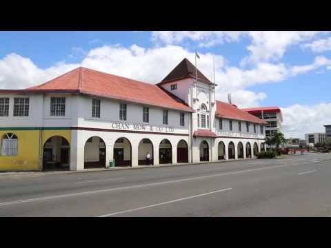 Samoa Upulu Apia centre ville / Samoa Upulu Apia city center