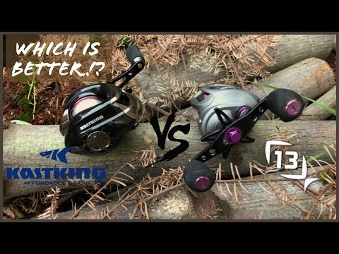 13 fishing inception VS kastking royal legend (reel comparison/ review)