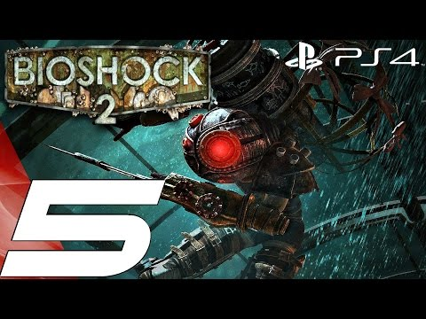BioShock 2 Remastered (PS4) - Gameplay Walkthrough Part 5 - Fontaine Futuristics 1080P 60FPS