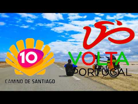 """camino di Santiago 2017 – camino Portugues - in Bicicletta """"free solo"""""""