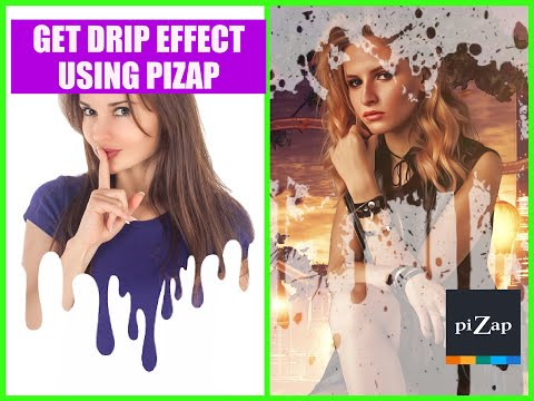 PiZap's Quick Photo Editing Tutorial: Get Drip Effect Using PiZap