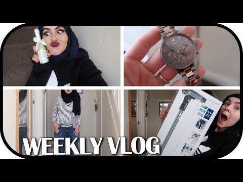 WEEKLY VLOG: FEELING LOW! | Amina Chebbi