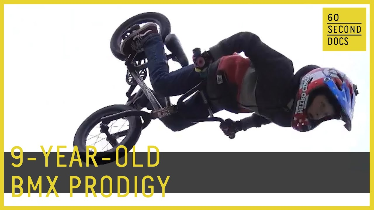 9-Year-Old is a BMX Prodigy