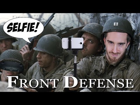 NOT SAVING PRIVATE RYAN IN VR | Front Defense VR - HTC Vive Gameplay