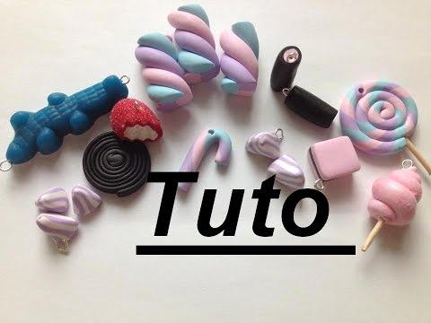 Tuto Fimo - Bonbons