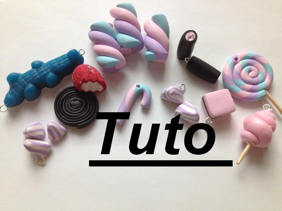 Tuto fimo bonbons youtube - Creation facile a faire ...