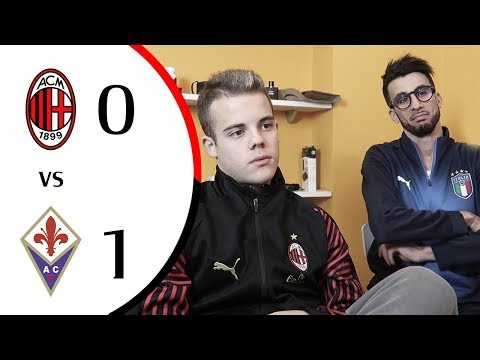 BEFFATI... - MILAN 0-1 FIORENTINA | LIVE REACTION GOL HD
