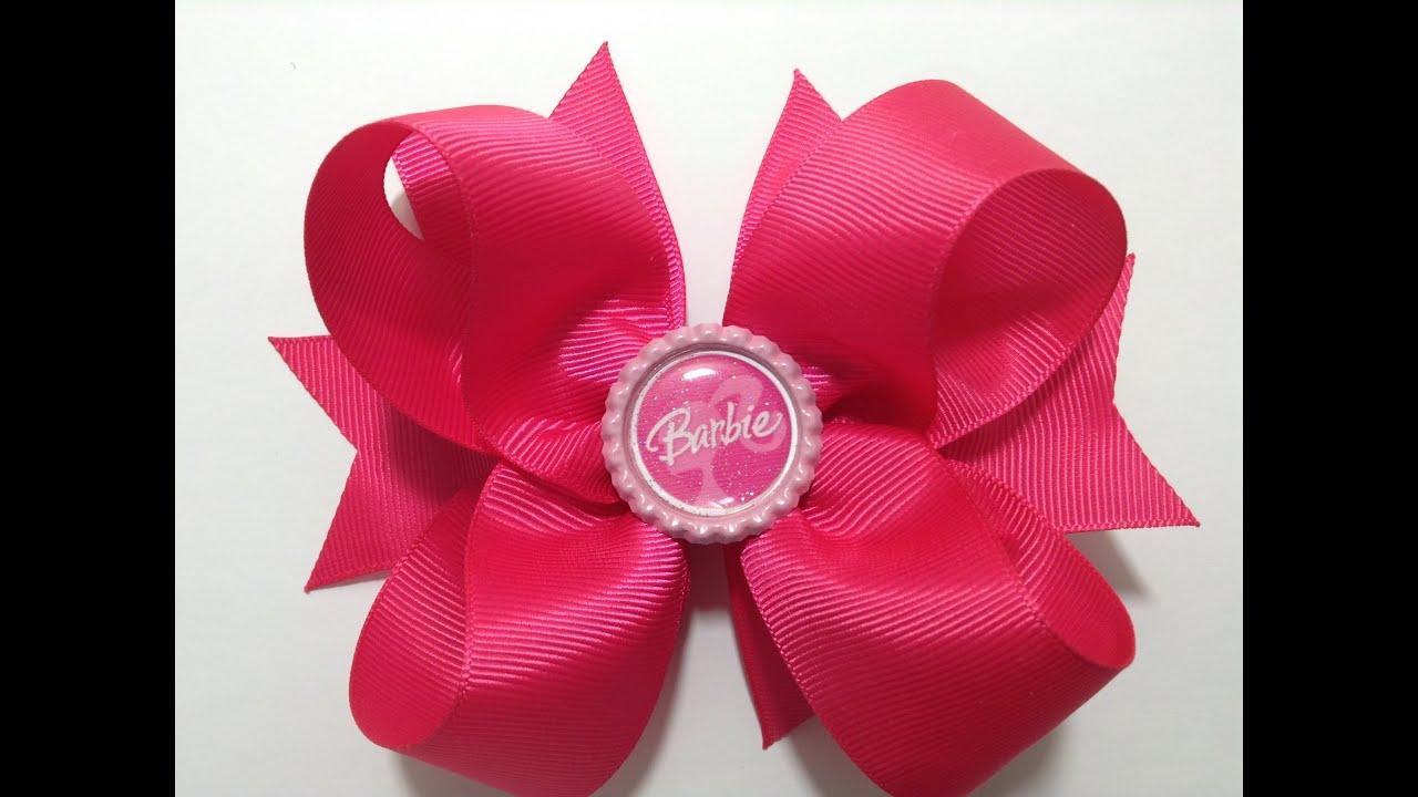 moño boutique color rosa de barbie video no 344 youtube