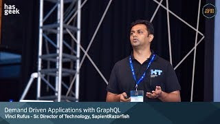 Demand Driven Applications with GraphQL by Vinci Rufus
