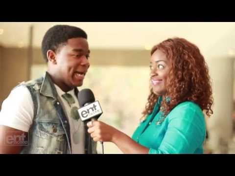 Maze Runner Dexter Darden Takes on Usher and Ed Sheeran
