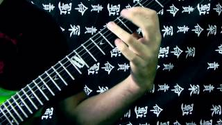 Improvisación sobre Fear is the Weakness - In Flames (Dean Razorback 255, Engl E530)