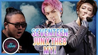 "Producer Reacts to SEVENTEEN Jun x The8 ""My I"""