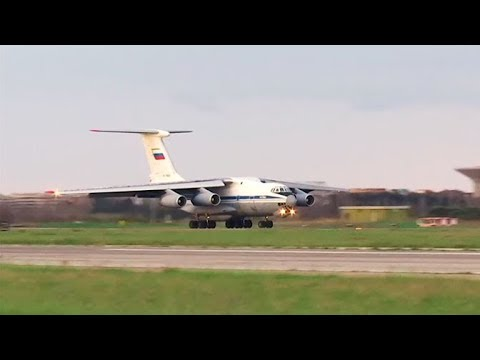 10-ый самолет ВКС РФ вылетел в Италию для помощи в борьбе с Covid-19