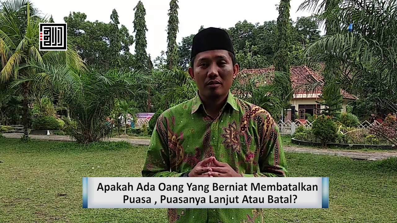 Download Apakah Berniat Membatalkan Puasa, Puasanya Akan Batal? – Ustadz M. Saiyid Mahadhir, Lc, MA