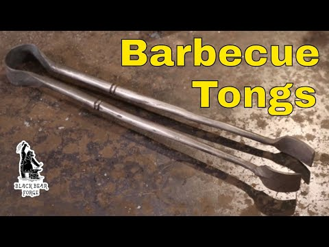 Barbecue tongs - countdown to Christmas