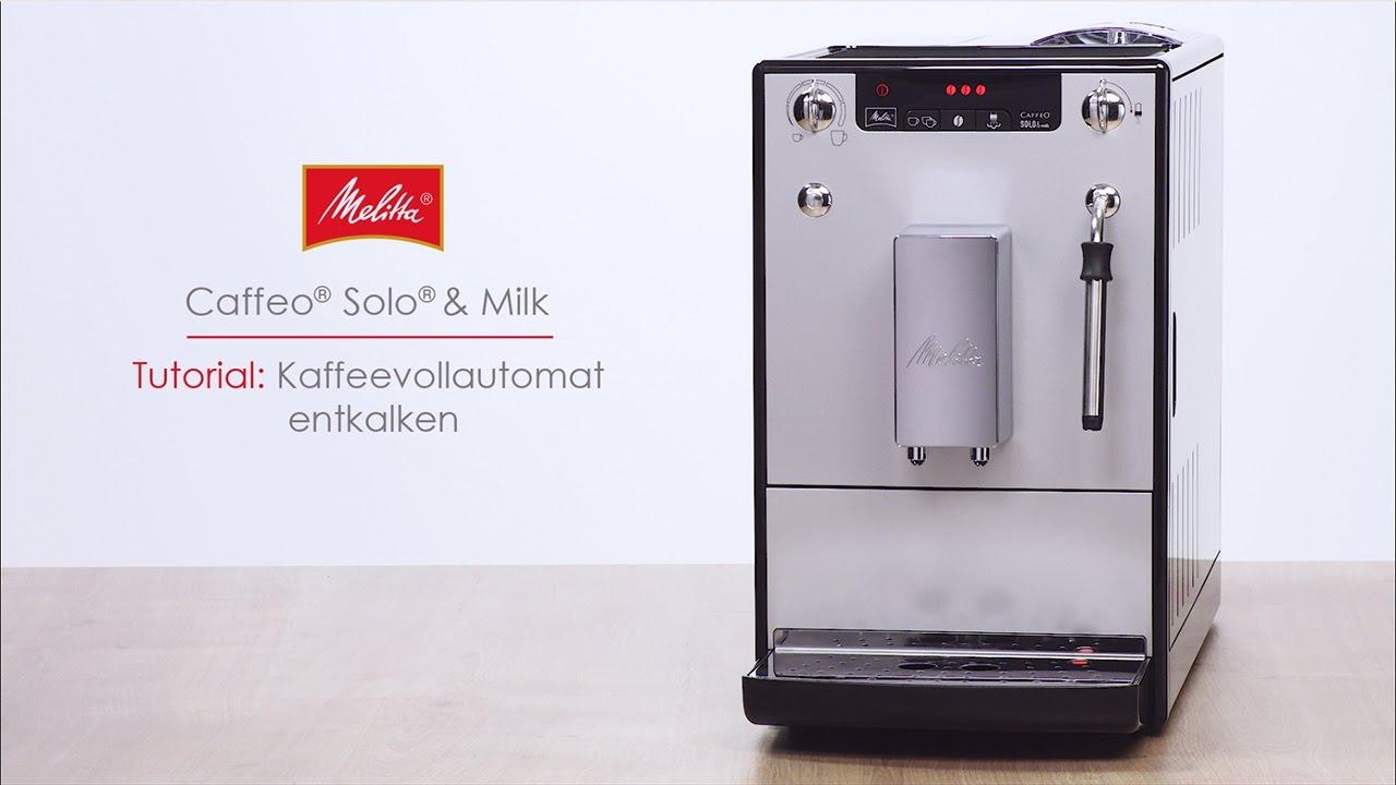 melitta caffeo solo milk tutorial kaffeevollautomat. Black Bedroom Furniture Sets. Home Design Ideas