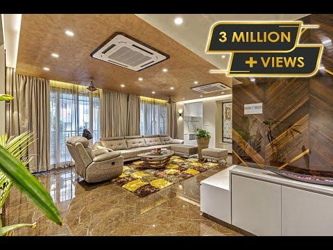 #3BHK Luxury Interior Design in Pune by Designs Bank