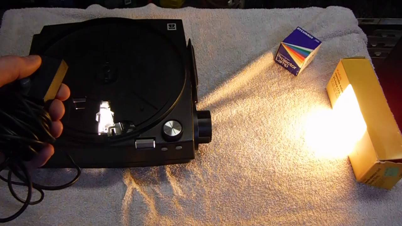 kodak carousel 850h slide projector manual