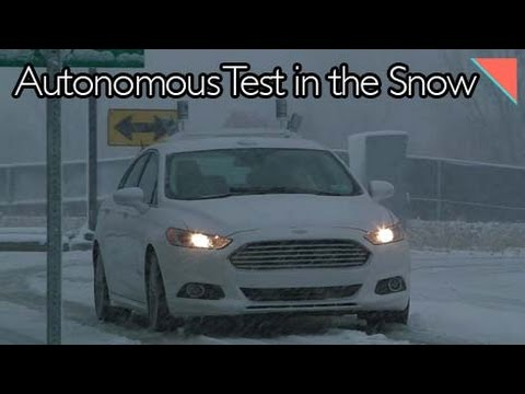 Ford Tests Autonomy in the Snow, Audi Develops Composite Tooling - Autoline Daily 1818