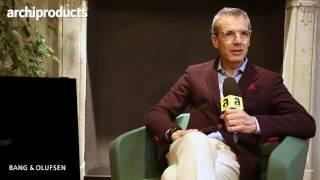 Archiproducts Milano 2017 | BANG & OLUFSEN - Mario Lupano ci racconta Beoshape e gli altri prodotti