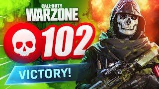 102 KILL GAME on WARZONE! (CoD Modern Warfare)