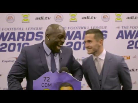 Akinfenwa goes behind the scenes at the Football League Awards 2016