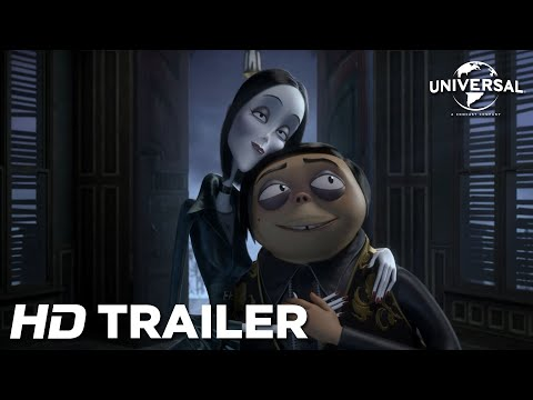 First Teaser For The Animated Addams Family Movie