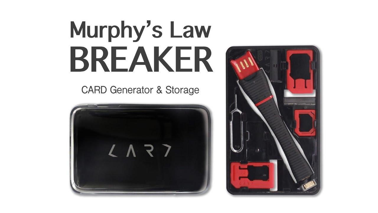 Murphy Visa Card >> Murphy S Law Breaker Card Storage Generator