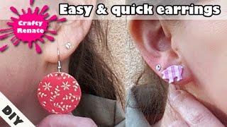 Paper craft ideas - earrings