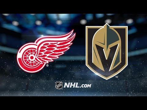 Detroit Red Wings Vs. Vegas Golden Knights | NHL Game Recap | October 13, 2017 | HD