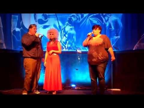 Our winner at 70s Roulette Karaoke, Genevieve
