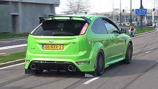 BEST OF FORD FOCUS RS MK2 5-Cylinder Exhaust Sound Compilation!