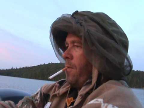 Luc Sauvé ,parc Lavérendry avec son casq a mouche