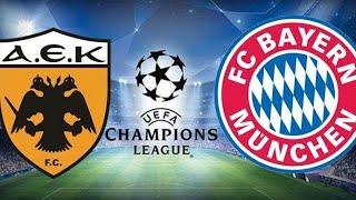AEK Atina - Bayern Münih Maçı Canlı İzle (Maç Hangi Kanalda?)
