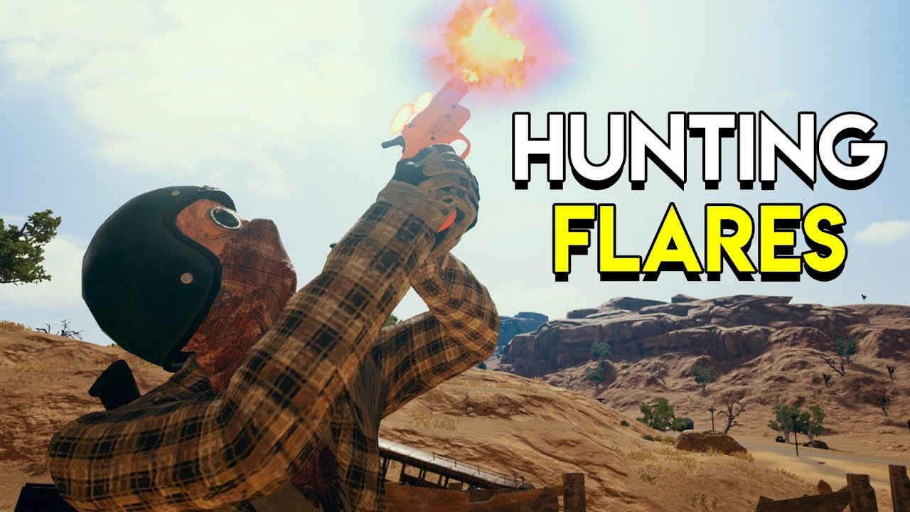 Pubg Announces Flare Gun For Event Mode: PlayerUnknown's Battlegrounds (PUBG